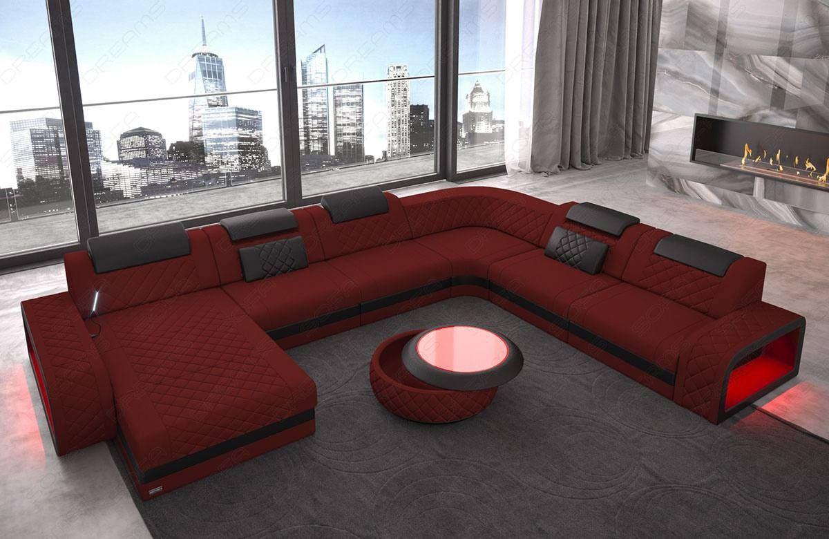 Modern Fabric Sofa Charlotte Xl