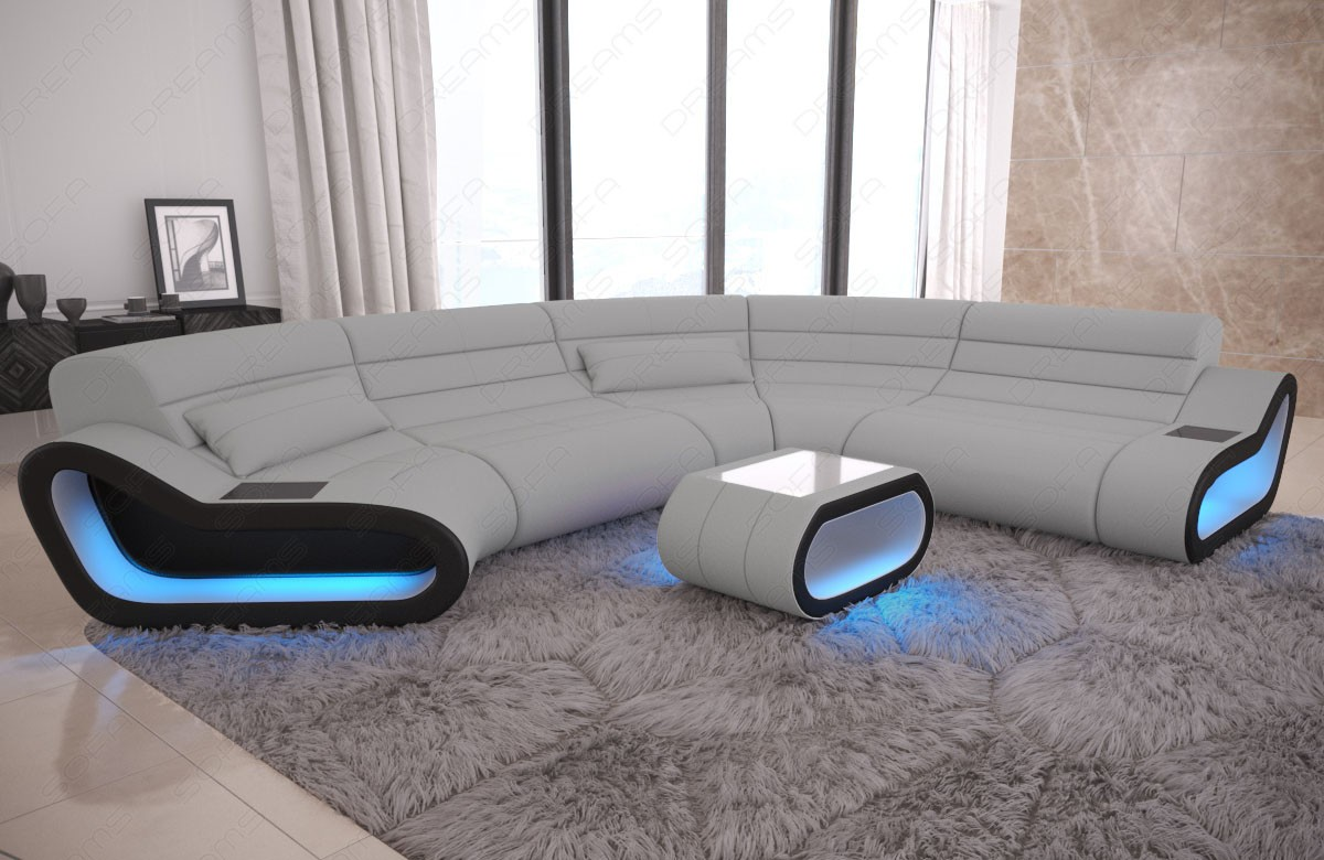 Modular Fabric Sofa Concept C Large