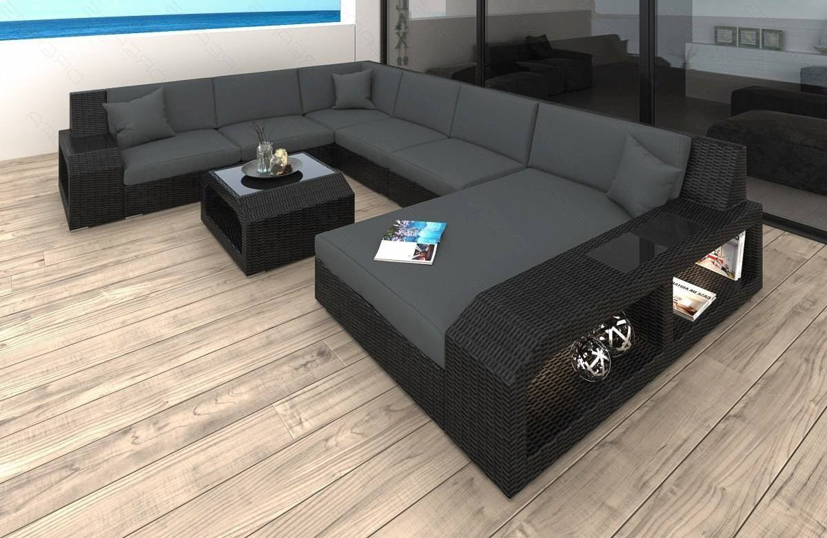 Patio Furniture Outdoor Sofa Houston In Gray