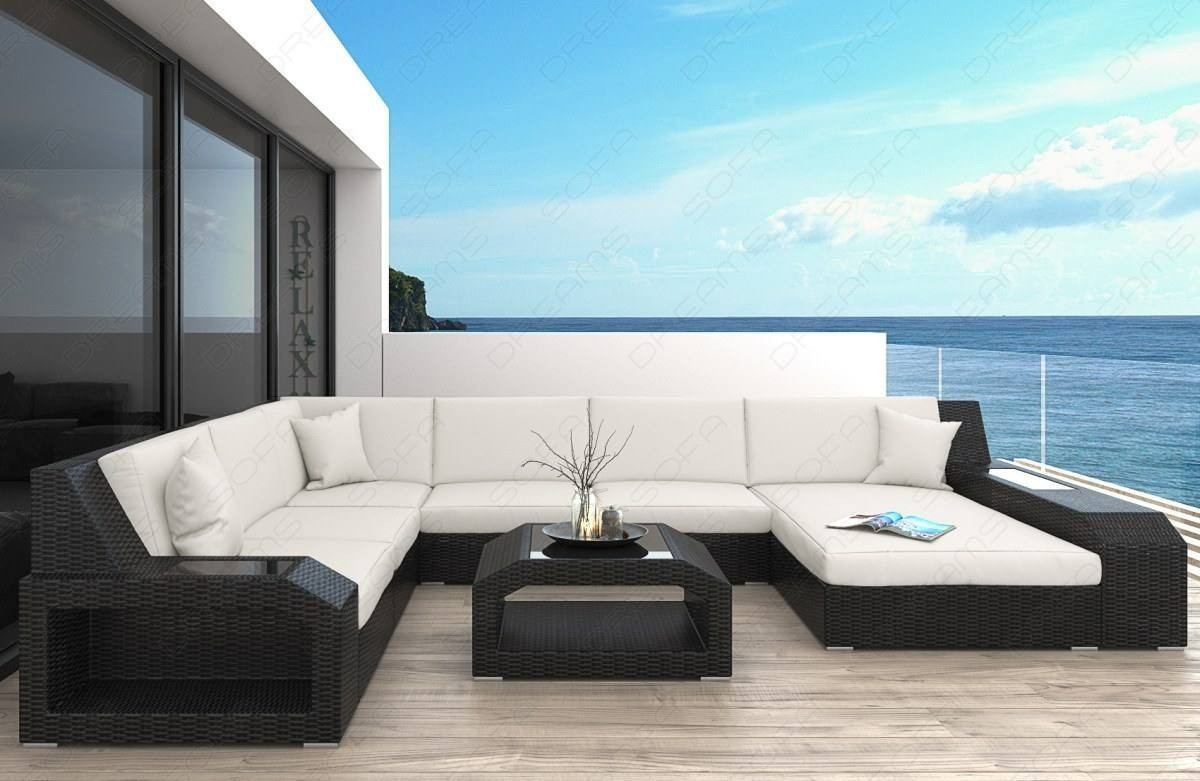 Patio Furniture Outdoor Sofa Houston With Led Lights