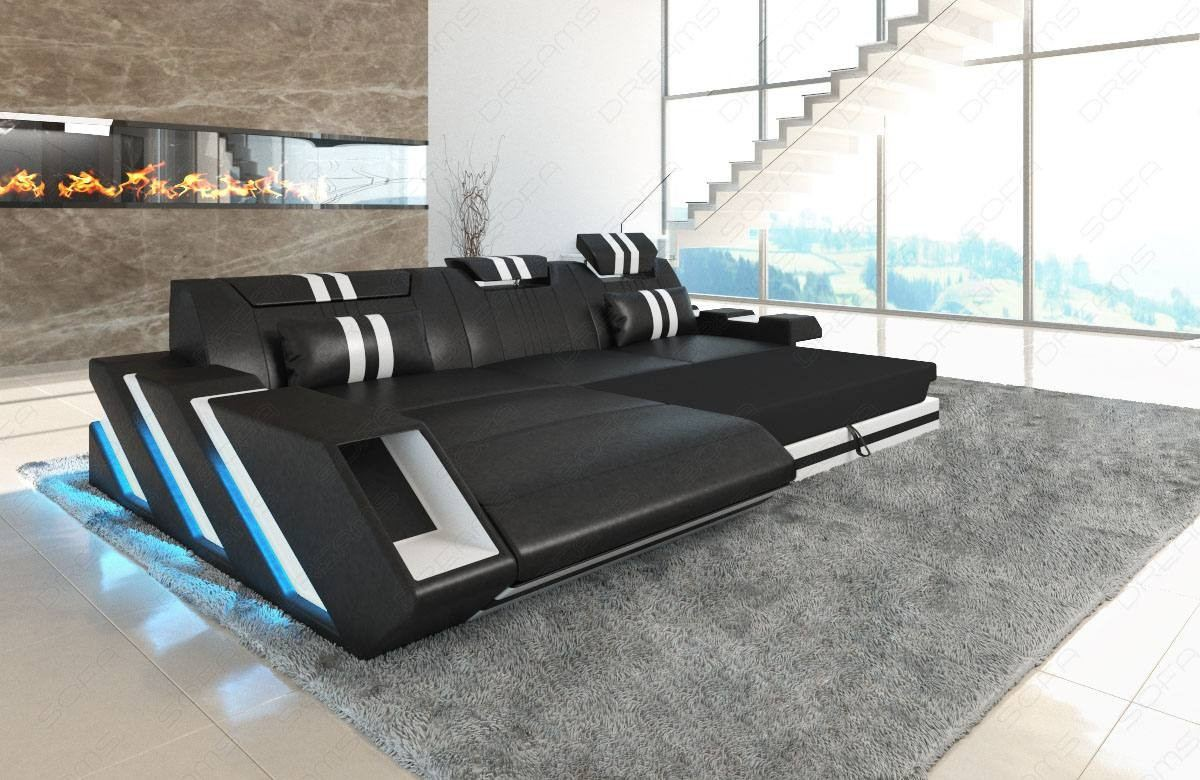 Sensational Leather Sofa New Jersey L Shape With Led Alphanode Cool Chair Designs And Ideas Alphanodeonline