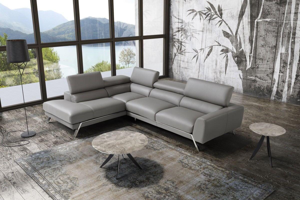 - Marcello - Italian Leather Sectional Sofadreams