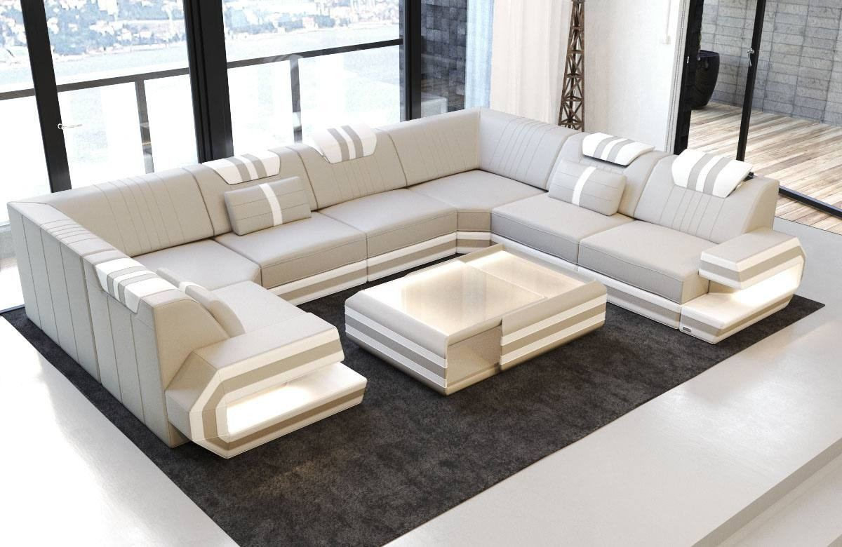 Luxury Sectional Sofa San Antonio U Shape