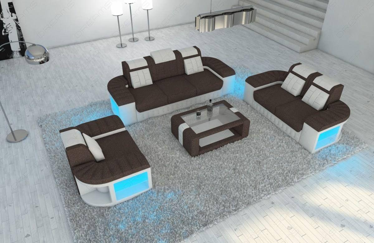 Boston Fabric Sofa Set Sofadreams