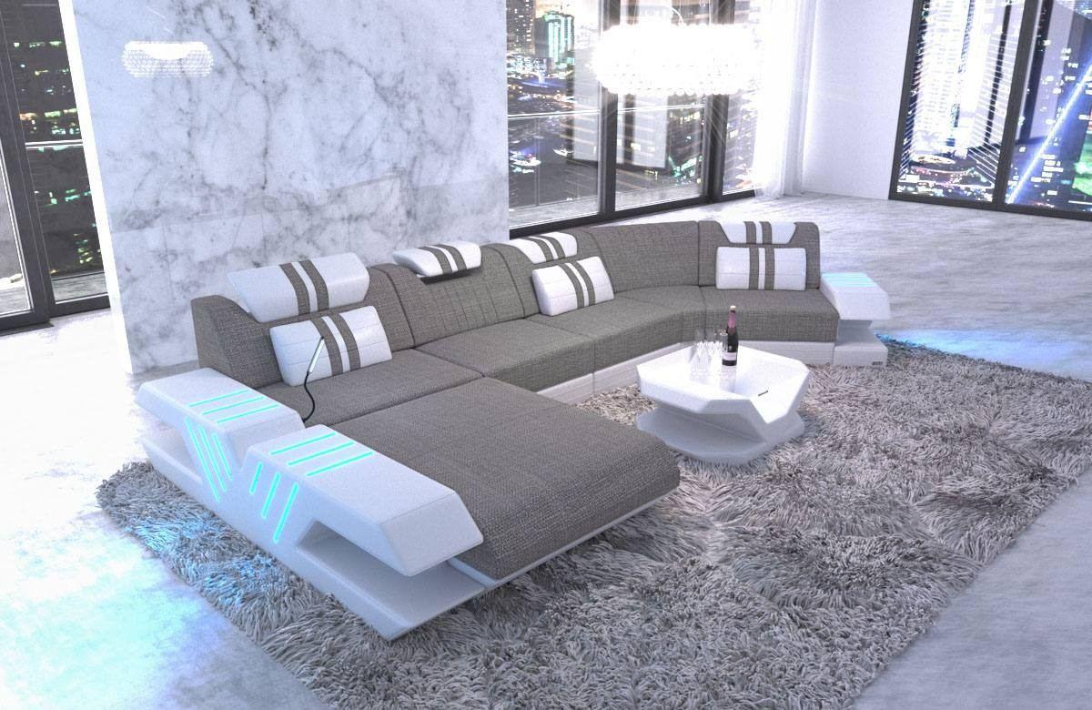 Fabric Sectional Sofa Beverly Hills C Shape