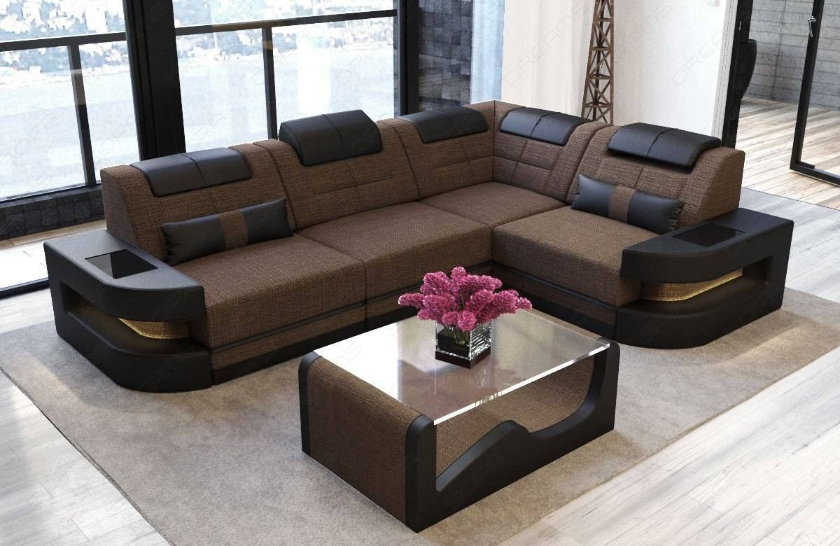 Fabric Sofa Modern Denver L