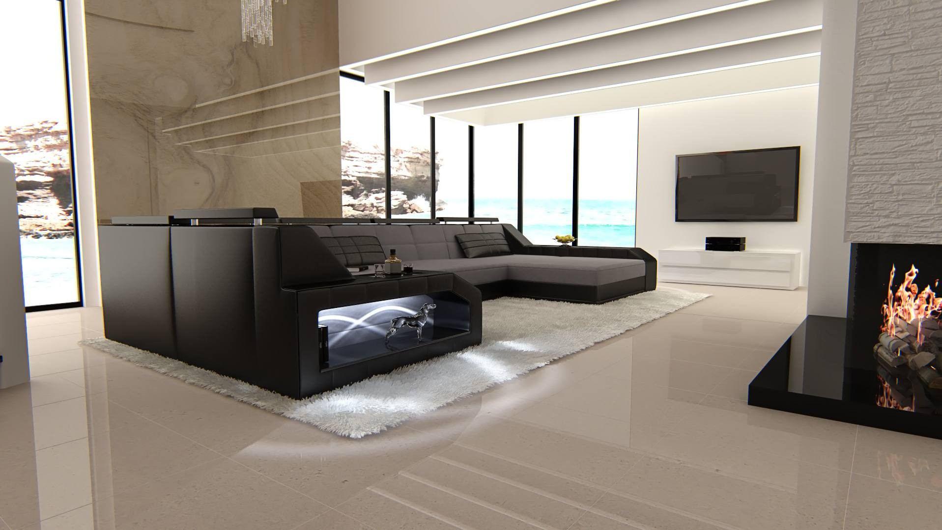 Fabric Sectional Sofa Houston U Shape