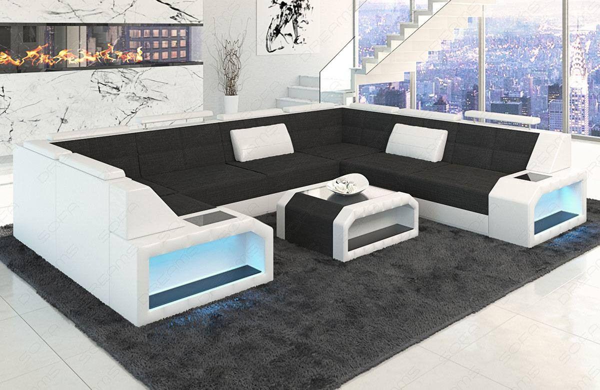 Sectional Fabric Sofa San Jose U Shape
