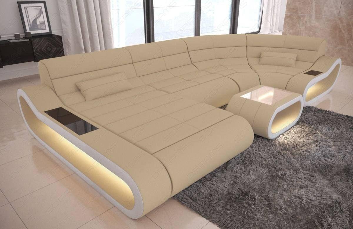 Luxury Fabric Sofa Concept U Shape