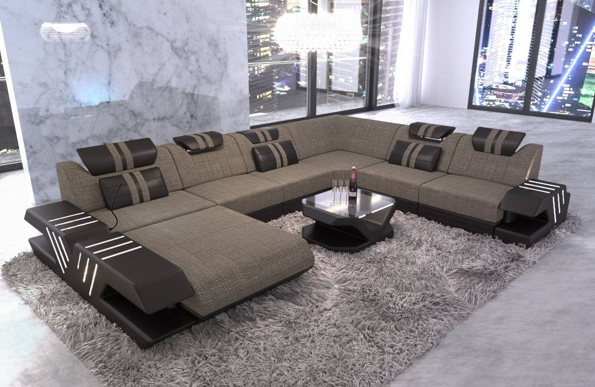 Upholstery Sectional Sofa Beverly Hills Xl