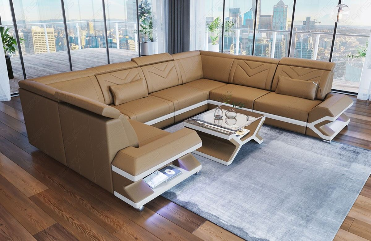 Design Leather Sectional Sofa