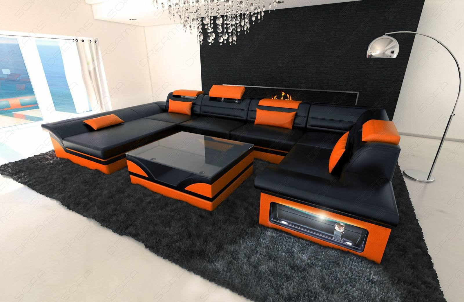 Luxury Leather Sectional Sofas