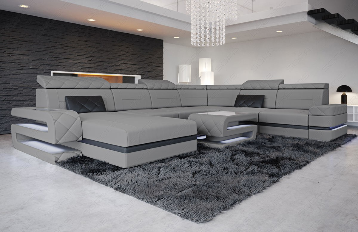 Sectional Fabric Sofa Gainesville XL - Fabric Sectionals ...