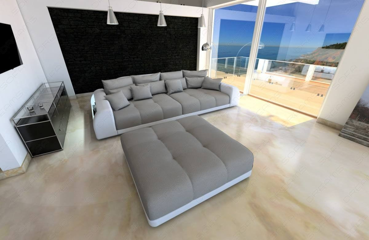 Stupendous Fabric Big Sofa Miami With Led Download Free Architecture Designs Scobabritishbridgeorg
