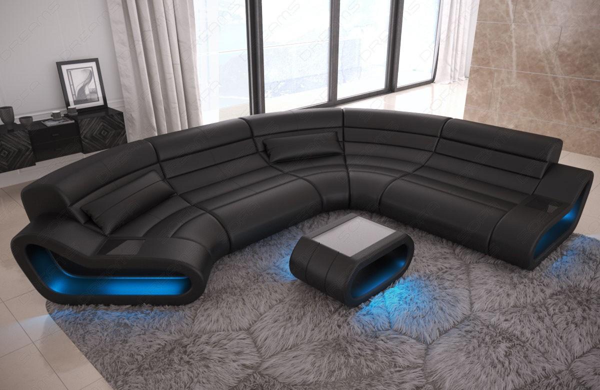 Modular Sectional Sofa Concept C Shape - Large Leather Sectionals - Leather Sectional Sofas