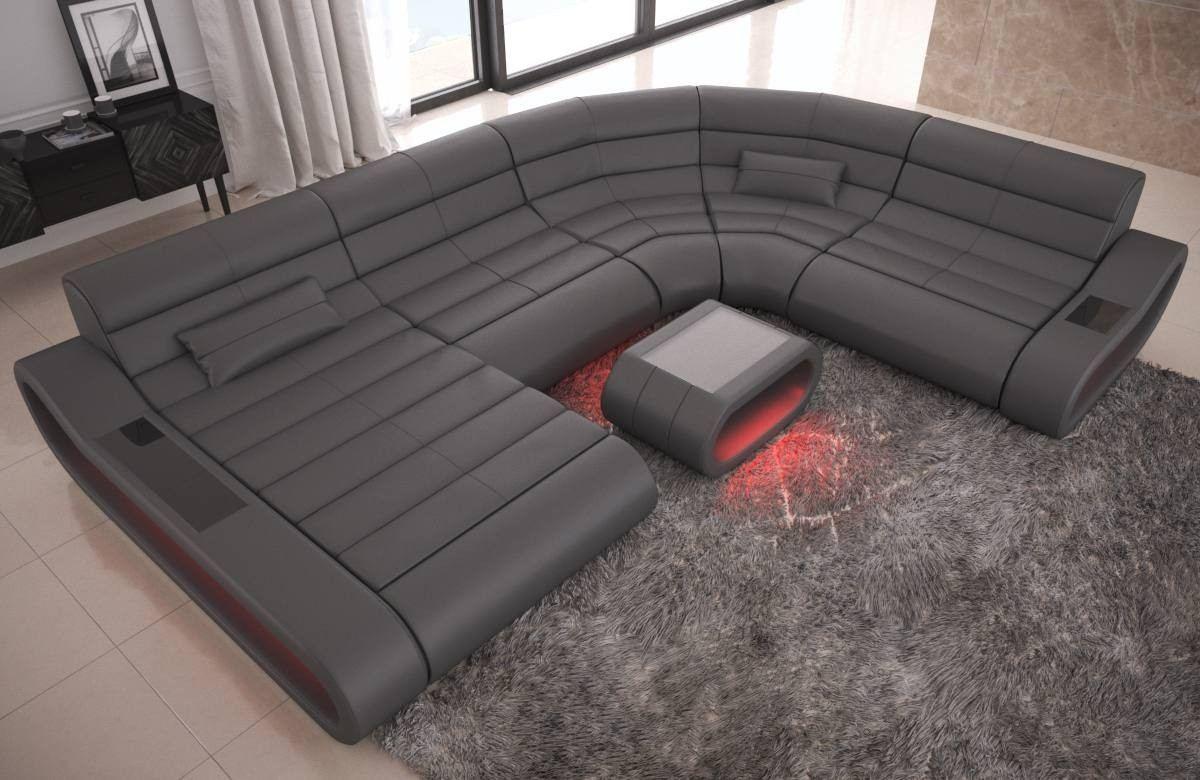 Modular Leather Sofa Concept Xl