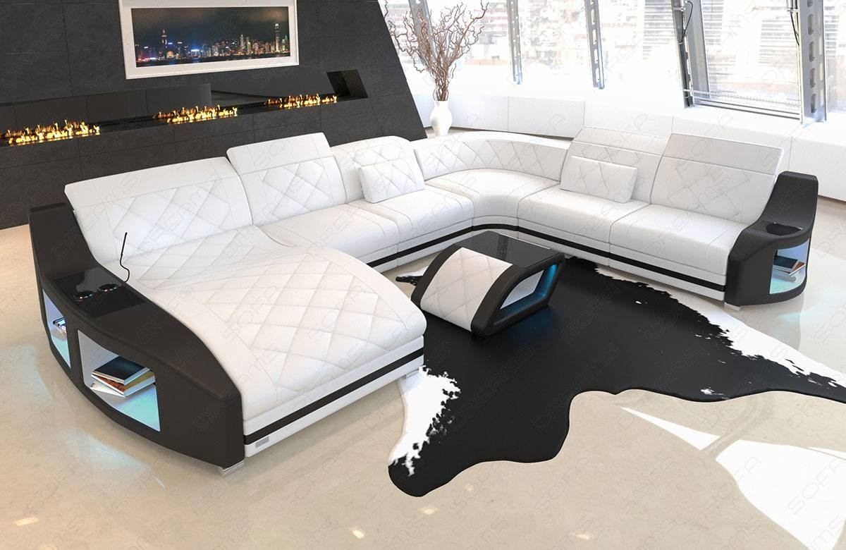 - Palm Beach XL Leather Sectional Sofa Sofadreams