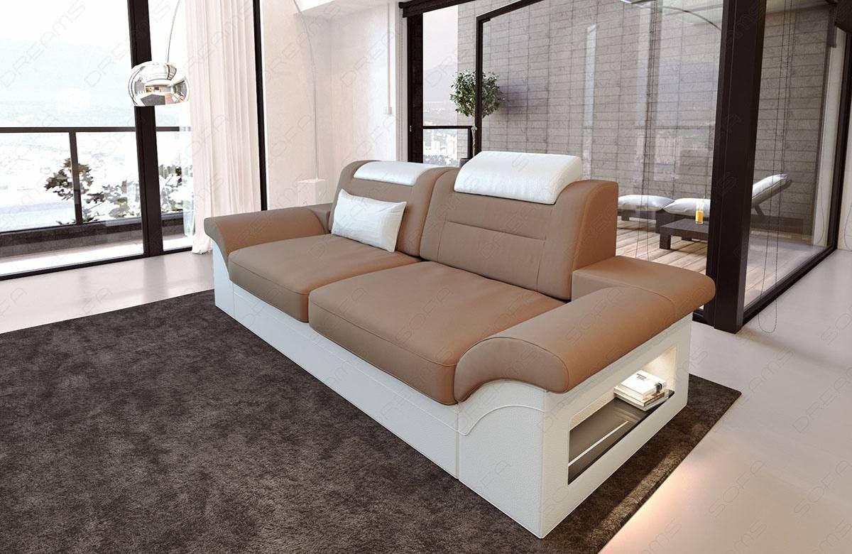 Two Seater Luxury Modern Fabric Sofa