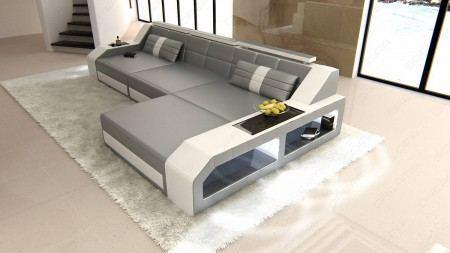 Sectional leather sofa Houston L Shape