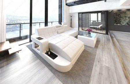 Luxury Sectional Sofa Jacksonville L Shape LED