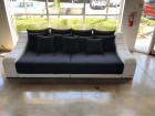 Big Fabric Sofa New York with Lights