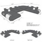 sofa ventura dimensions