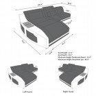 Fabric Sofa Palm Beach L Shape