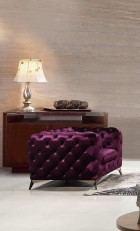 Chesterfield Sofa Set Julio purple