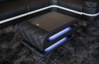 Coffee Table Leather Gainesville black