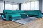 Sectional Fabric Sofa Velvet Fabric U Shaped Sun Velvet 1013