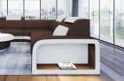 Fabric Sectional Sofa Phoenix L with Lights brown Hugo 8