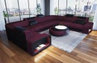 Modern Fabric Sofa Phoenix L with Lights purple Mineva 13