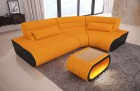 Modular Fabric Sectional Sofa Concept Mini orange Mineva 16