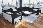 Design Sectional Sofa Phoenix L with Lights black Hugo 14