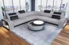 Fabric Sectional Sofa Phoenix L with Lights Hugo 2