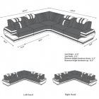 Sofa San Antonio dimensions