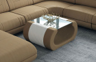 Fabric coffee table Ventura in Mineva 6 - lightbrown