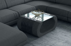 Fabric coffee table Ventura in Mineva 8 - grey