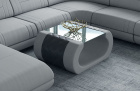 Fabric coffee table Ventura in Mineva 12 - lightgrey