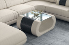 Fabric coffee table Ventura in Mineva 1 -beige