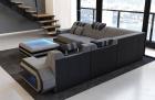 Fabric Sofa San Antonio L shape in grey - Hugo5