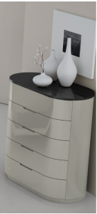 Modern Design Bedroom Venice - detail picture of the chest