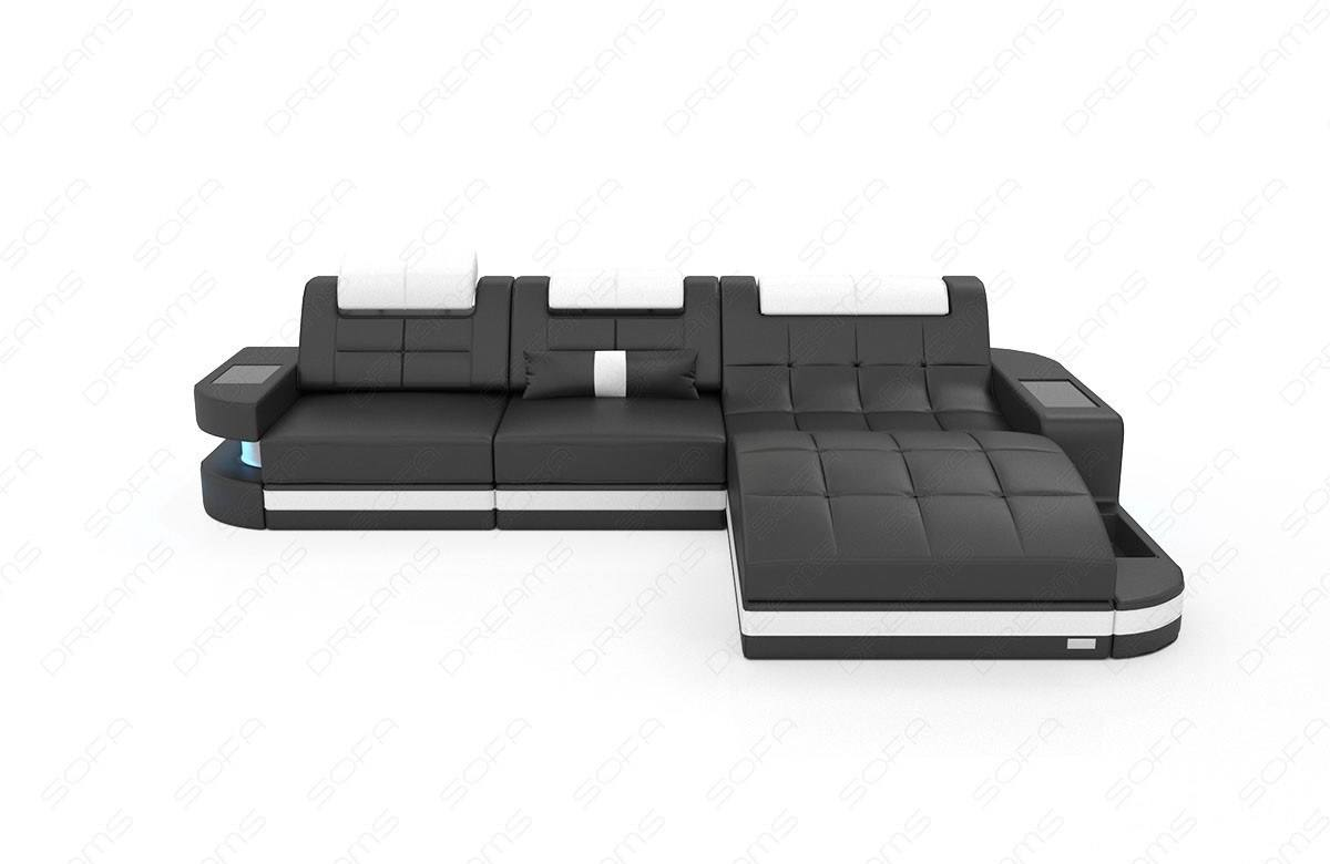 Touch to zoom  sc 1 st  Sofa Dreams : black and white sectional - Sectionals, Sofas & Couches