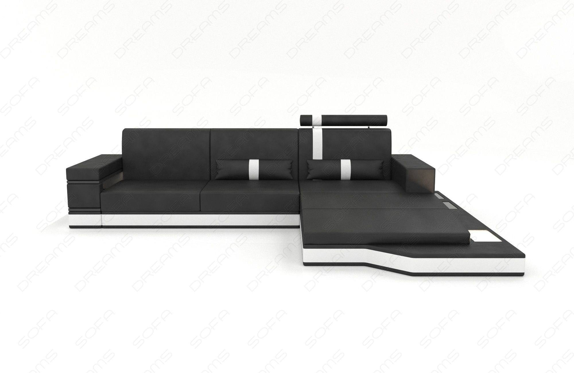Modern Fabric Sofa Los Angeles L with Lights