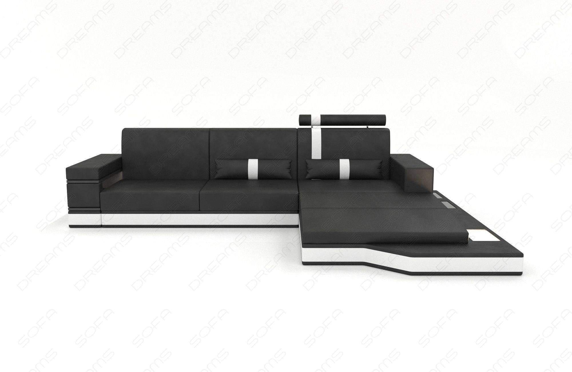 Modern Fabric Sofa Los Angeles L with Lights
