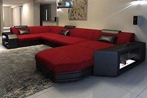 Fabric x-large sectionals