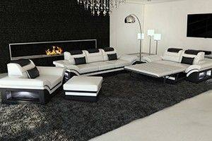 Sofa Sets Best Modern Leather Sofa Sets